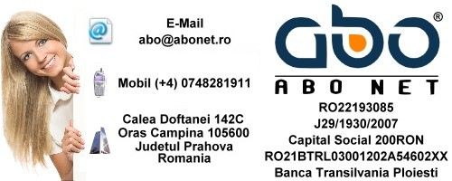 Informatii contact ABO NET Hosting romania .ro .net