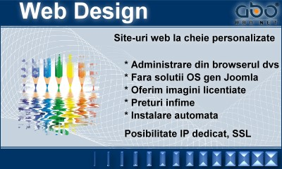 Web Design AUTOMATIC Hosting romania .ro .net